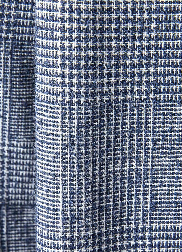Пиджак в клетку «Принц Уэльский» из хлопковой ткани