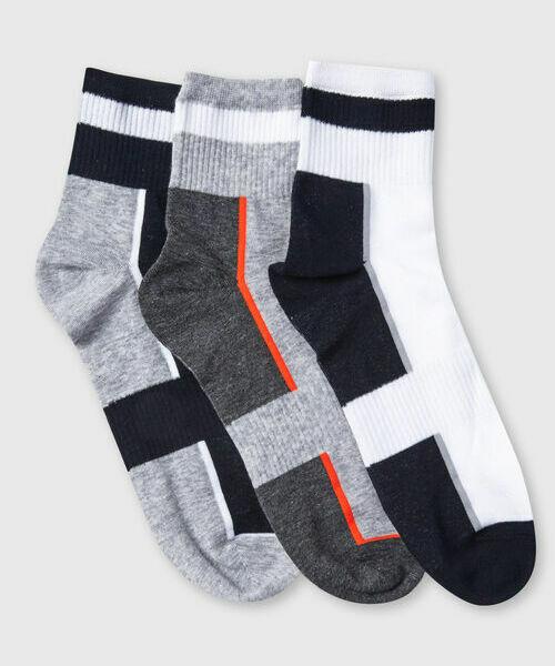 Комплект носков с полосками