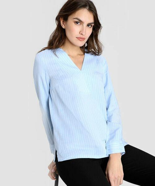 Блузка из модала в полоску carven блузка в полоску