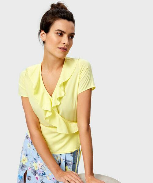 Блузка с рюшами цены онлайн