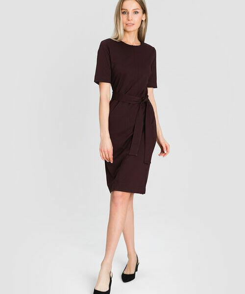 цены Трикотажное платье-карандаш