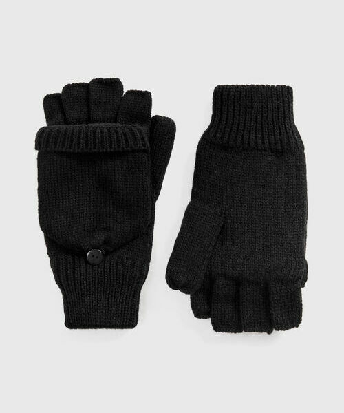 Варежки с открытыми пальцами