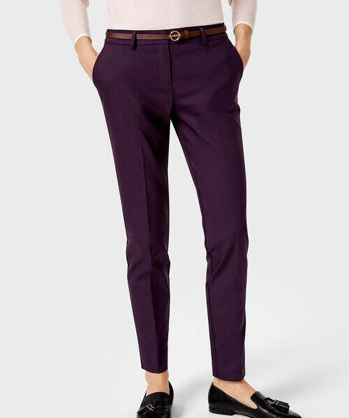 Фото - Хлопковые брюки с ремнём фото