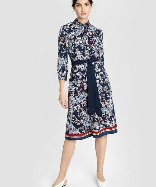 платья yulia sway платье loran Платье из модала с платочным принтом
