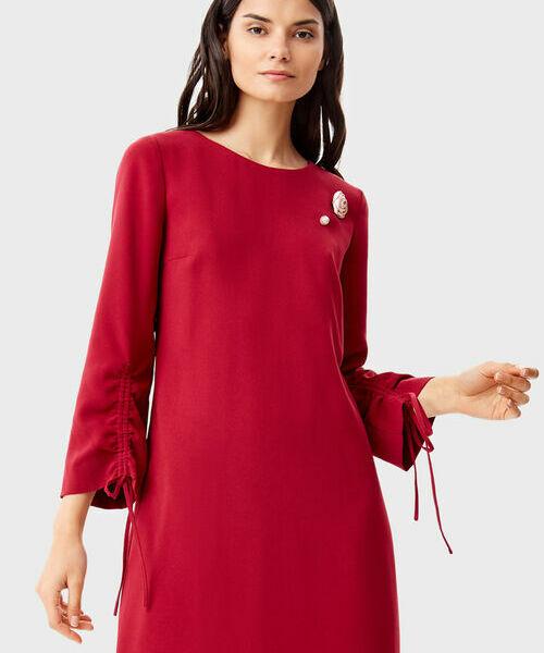 Фото - Платье с брошью фото