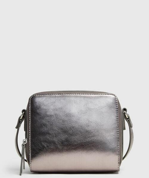 Сумка на плечевом ремне prada бежевая кожаная сумка на текстильном ремне