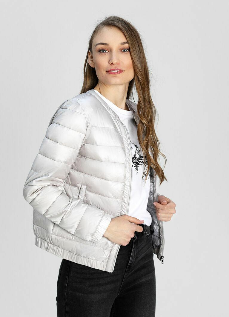 Ультралёгкая куртка с горизонтальной стёжкой