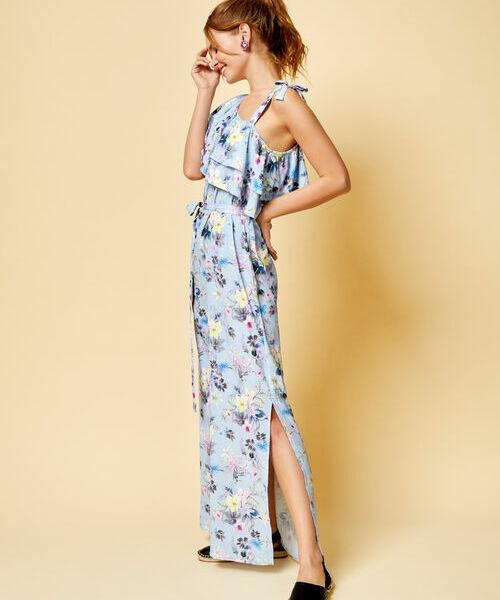 Платье на одно плечо с принтом цена