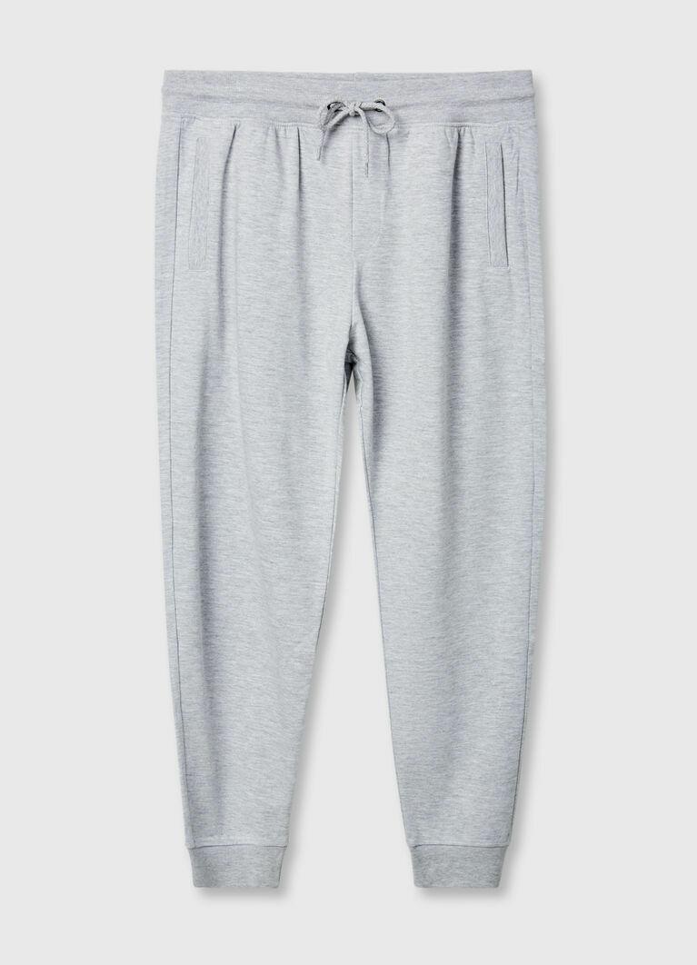 Трикотажные брюки-джоггеры