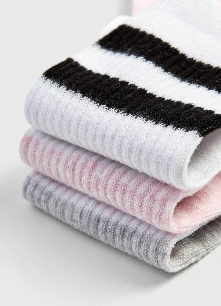 Носки с полосками