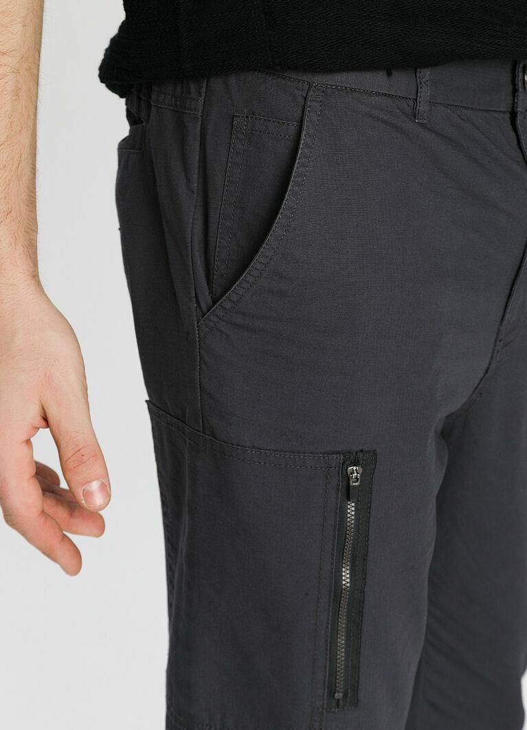 Функциональные брюки из ткани рип-стоп