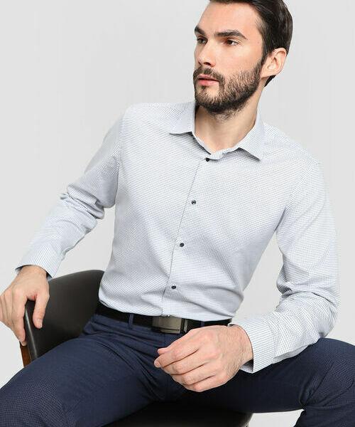 Фото - Рубашка из жаккардовой ткани рубашка greg greg mp002xm05sgb