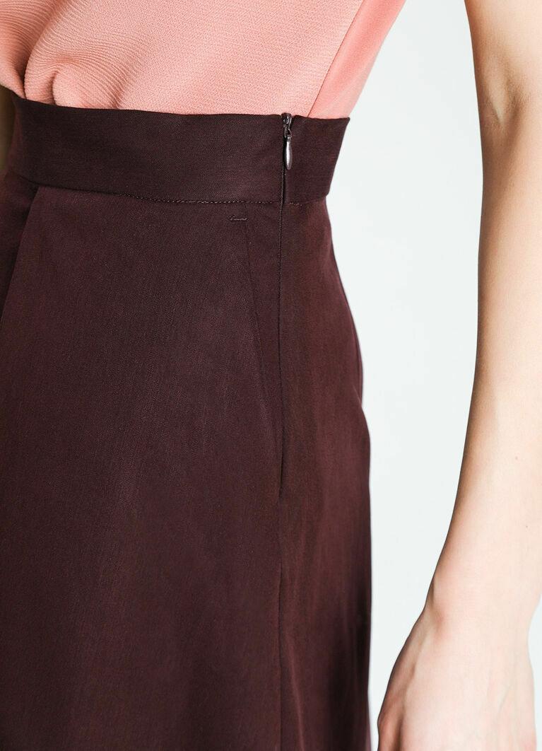 Структурная юбка А-силуэта