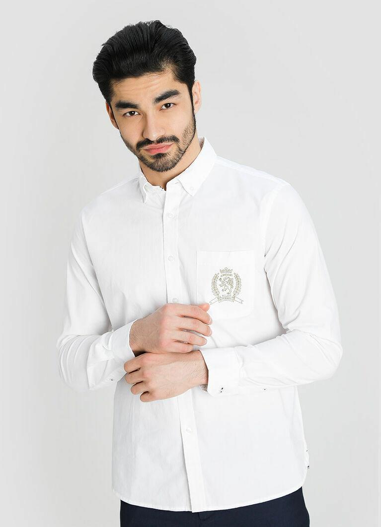 Рубашка из структурного хлопка