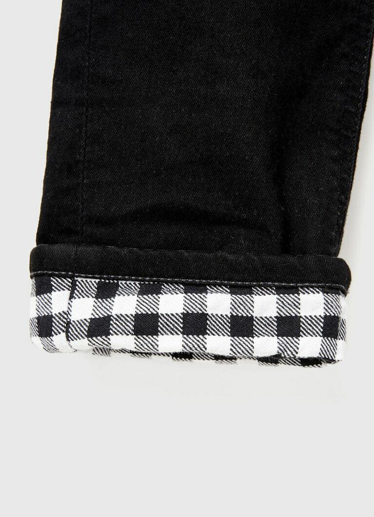 Джинсы с подкладкой для мальчиков