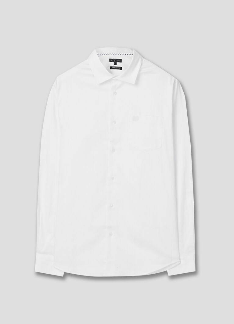 Рубашка с узором в «ёлочку»
