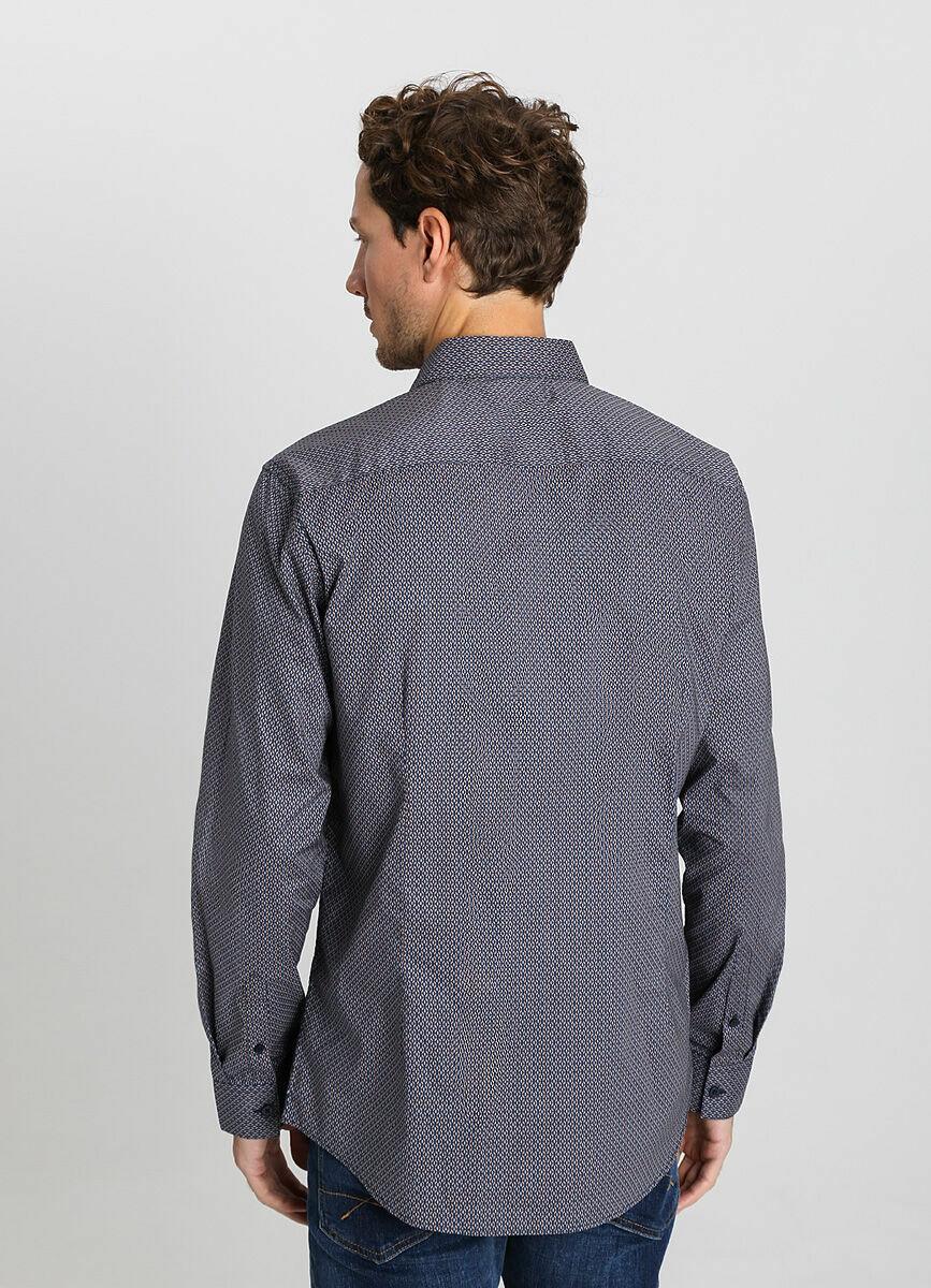 Рубашка с ретропринтом