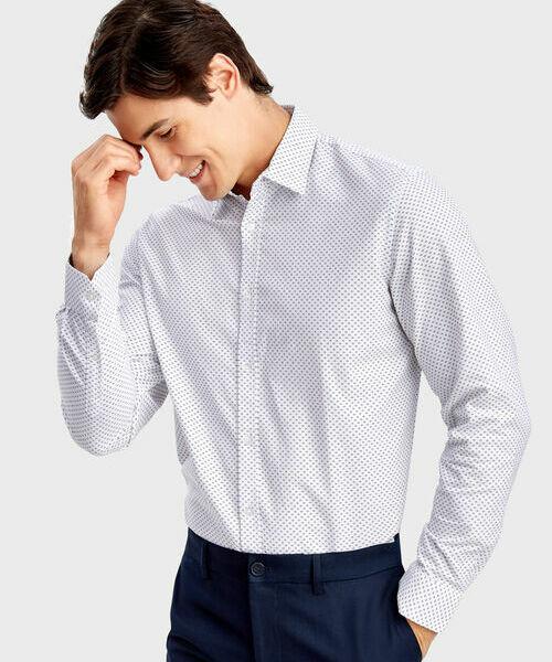 Фото - Принтованная рубашка из хлопка Oxford фото