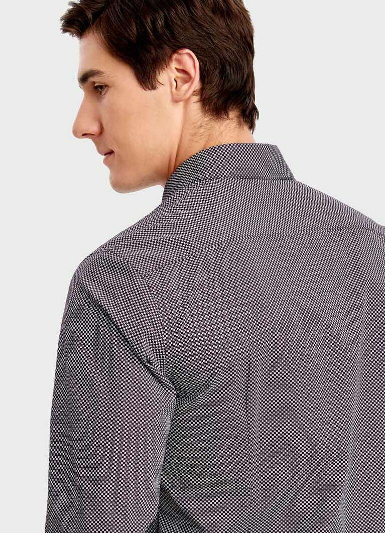 Рубашка в микропринт