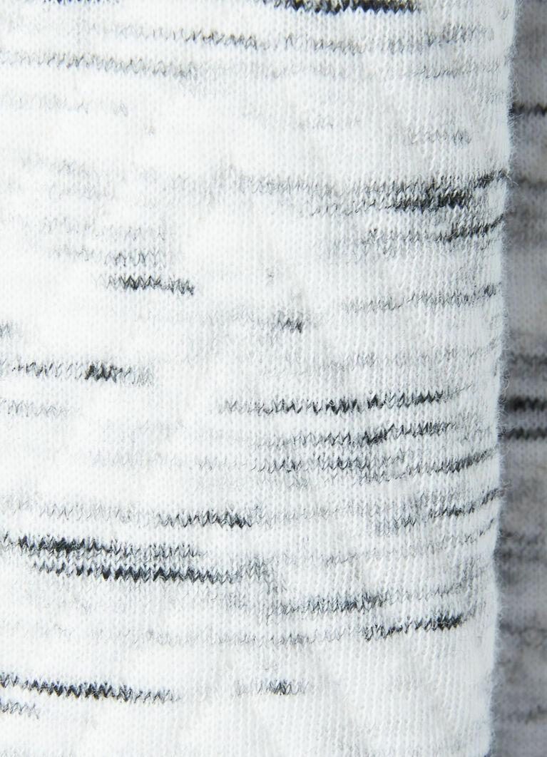 Кроёный стёганый джемпер