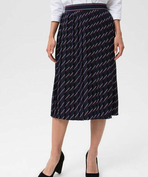 Фото - Плиссированная юбка в полоску фото