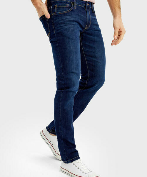 Джинсы Skinny с потёртостями tassel skinny belt