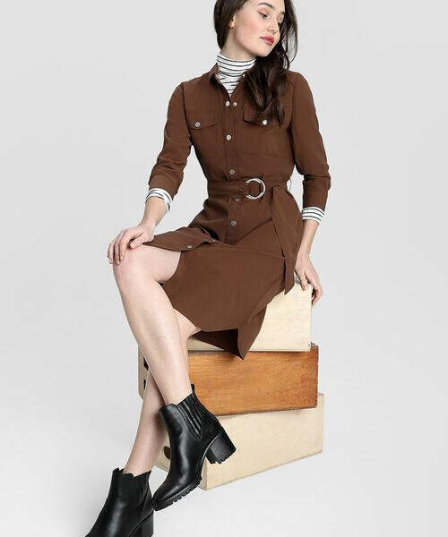 Фото - Платье-рубашка с накладными карманами рубашка greg greg mp002xm05sgb