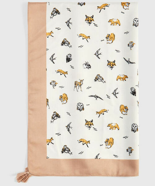 Платок с кисточками сумка с вышивкой и кисточками charlie pouch