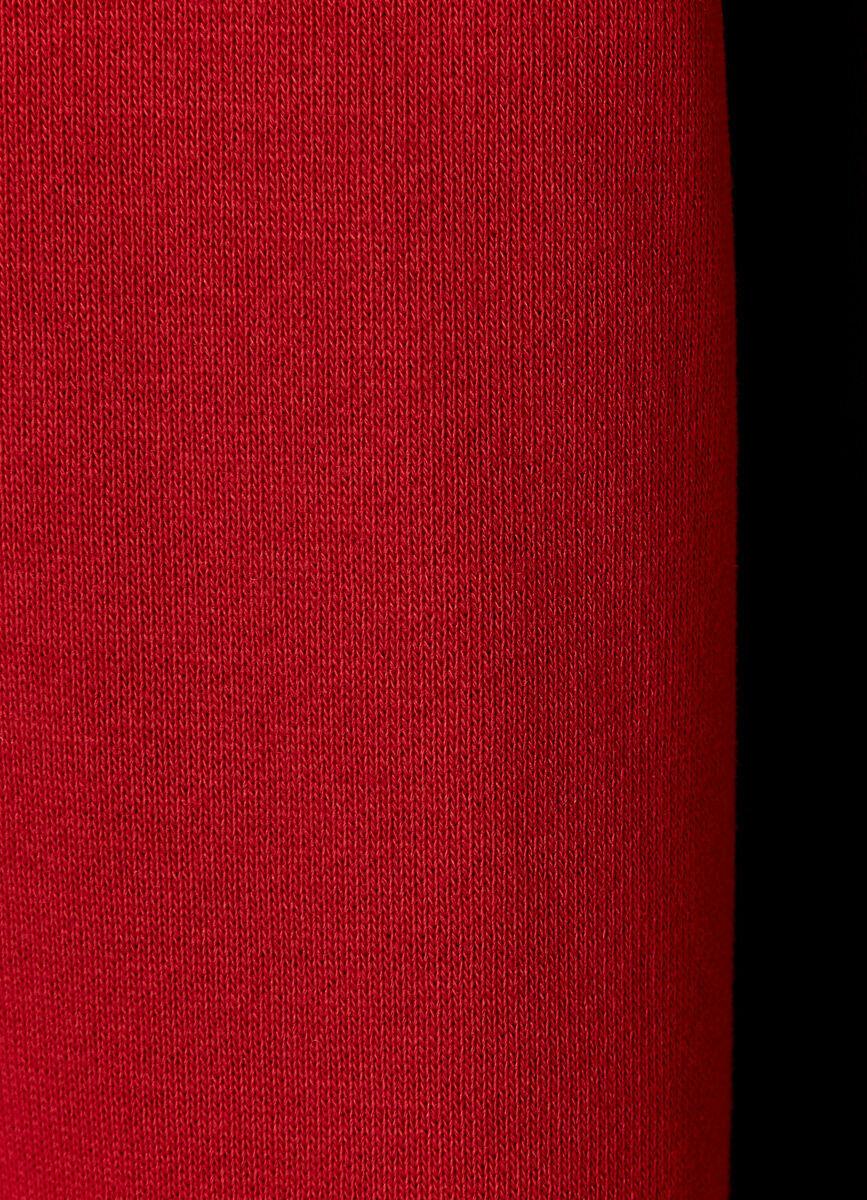 Толстовка с капюшоном и текстильным низом