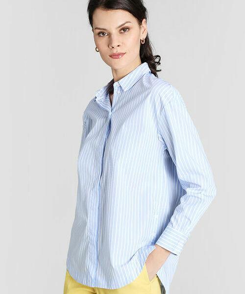 цена на Рубашка из хлопка в полоску