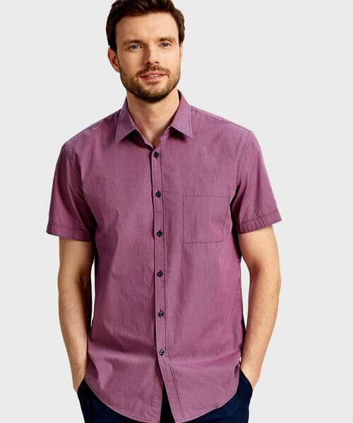 Фото - Рубашка в микроклетку рубашка greg greg mp002xm05sgb