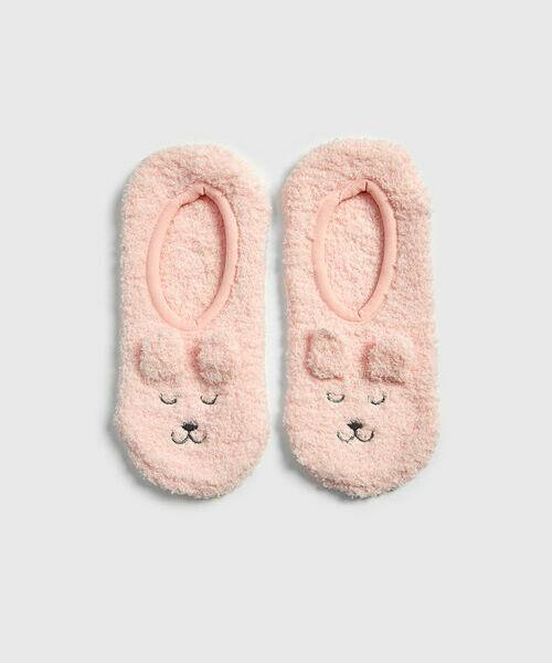 Домашние короткие носки «медведи»