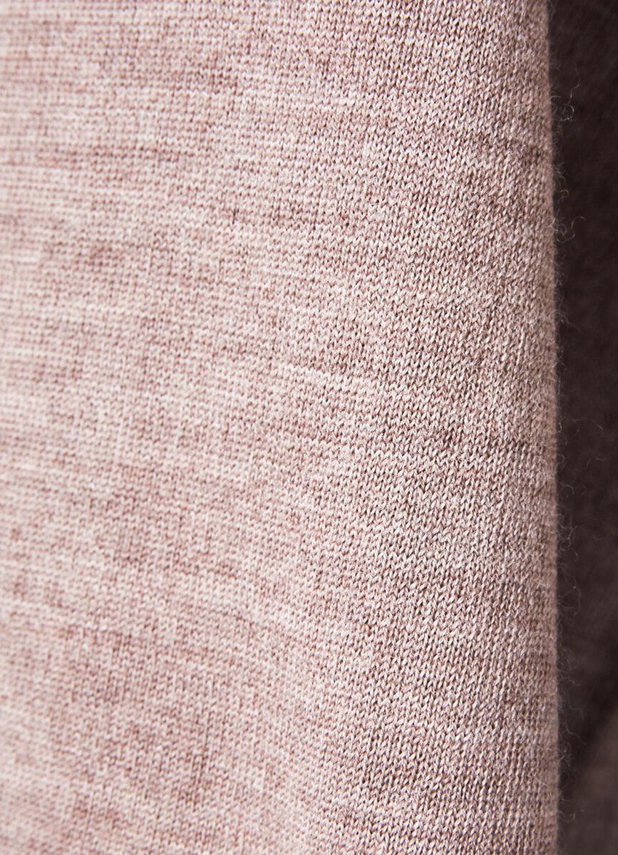 Джемпер-водолазка из шерсти мериноса