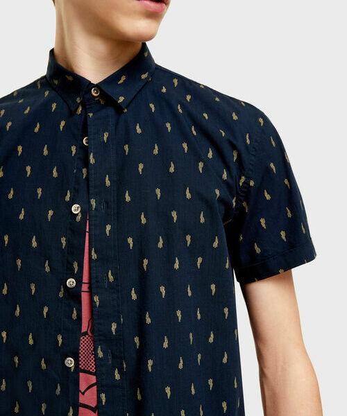 Фото - Рубашка с принтом рубашка greg greg mp002xm05sgb