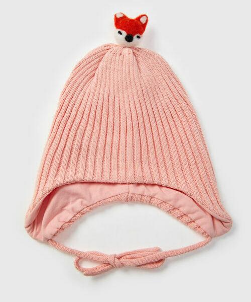 Купить со скидкой Вязаная шапка для девочек